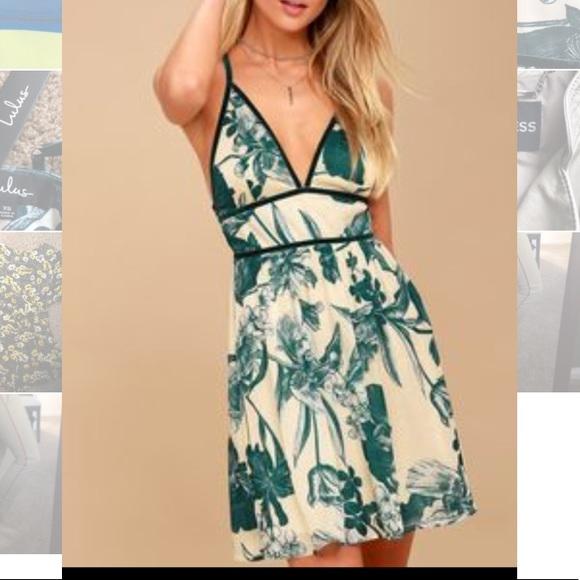 d2996e2310 NWT fun and flirty Lulu s dress with velvet trim